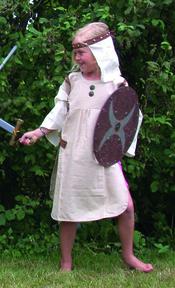 Jabadabado Vikingklänning med slöja.