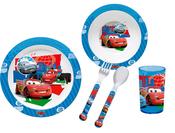 Cars 2 Disney Pixar Matset i melamin 5 delar