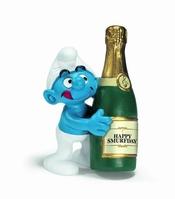 Schleich Smurf Flask smurf