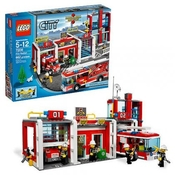 Lego City Brandstation 7208